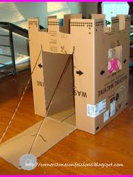 Cardboard Box Houses For Kids 1000 Ideas About Boxes On Pinterest Crafts