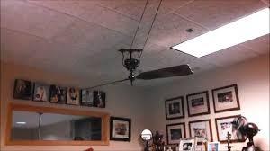 Belt Driven Ceiling Fans Cheap by Fanimation Brewmaster Ceiling Fan Youtube