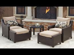 Chair And Ottoman Covers by Remarkable Patio Chair With Ottoman Patio Chairs With