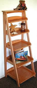 Smothery Shelf Woodworking Plans Ladder Shelving Wood Projects In Beginner