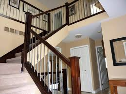 Banister Rail Stair Railing Designs Stair Railings Stair Railings ... Wrought Iron Railing To Give Your Stairs Unique Look Tile Glamorous Banister Railings Outdbanisterrailings Astounding Metal Unngmetalbanisterwrought Deckorail 6 Ft Redwood Rail Stair Kit With Black Alinum Banister Interior Kits And Kitchen Design Glass Staircase Railings Types Designs Modern Lowes Spindles Indoor Ideas Decorations Interior Kit Lawrahetcom Model Remarkable Picture