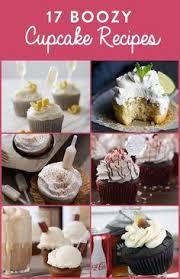 17 Boozy Cupcake Recipes