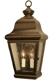 Miramonte Wall Sconce Copper Lantern Outdoor Light