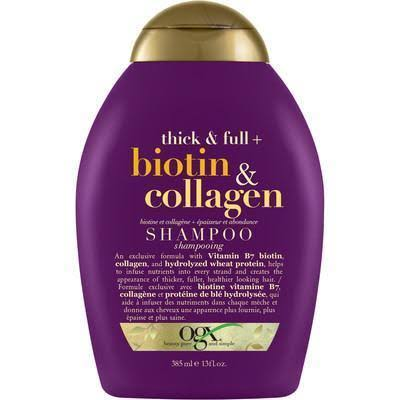 Organix Biotin and Collagen Shampoo - 385ml