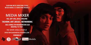 Fashion Week Houston Media Mixer 4 SEP 2018