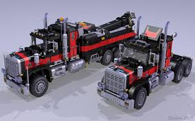 The Mack Anthem Semi Truck Roars To Life With LEGO Technic Set 42078 ... Tiny Turbos Concept Semi Truck Digibrickz White Custom Lego Extended Sleeper Cab With Chrome Trim Ideas Product Ideas Heavy Duty And Road Grader Brickcreator A Red 29 American Super Long Nose Distance Flickr Lego Moc Big Rig Day Cab Single Axle Semi Truck Itructions Ldd Grain Trailers Bin 7 Steps With Pictures Trailer Set Rts House Of Coolness
