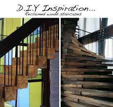 Ok The Reclaimed Wood Staircases