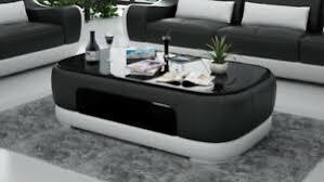 details zu leder couchtisch moderner tisch glastisch design tische glas wohnzimmer ct9009s