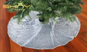 Etsy Tree Skirt Gallery Of Handmade Gold Sequin And Light Burlap On Ideal Christmas