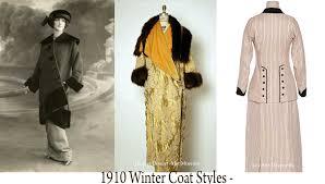 fashion in 1910 u2013 a womans complete winter wardrobe glamourdaze