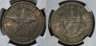 Added A Cuban Coin To My Collection Today 1933 Peso Coins