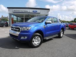 2017 ford ranger 2 2tdci limited 2 in performance blue with front