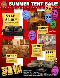 Tent Sale Flyer Clark County Graphics