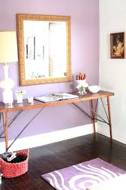 Purple Accent Wall Dining Room