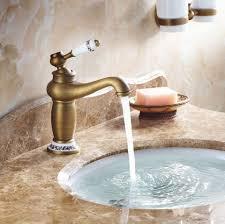 oukaning waschtischarmatur retro design bad antikes messing becken waschtisch armaturen einhandmischer waschbecken küche armatur mit wasserschlauch