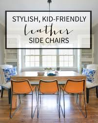 Wayfair Dining Room Side Chairs by Leather Side Chairs Breakfast Nook Project The Chronicles Of Home
