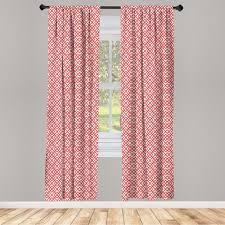gardine fensterbehandlungen 2 panel set für wohnzimmer schlafzimmer dekor abakuhaus rosa horizontal bild mit diamanten kaufen otto