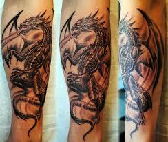 Gothic Dragon By Gettattoo