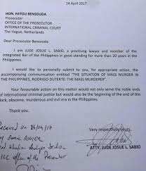Cabinet Agencies Of The Philippines by Criminal Case Vs Duterte Filed Before International Criminal Court