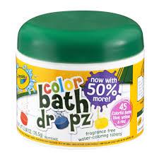 crayola bath dropz color 2 68 oz walmart com
