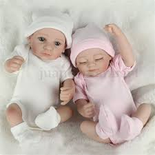 Play Handmade Full Silicone House Lifelike Baby Doll Soft Silicone
