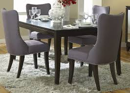 High Back Fabric Dining Chairs Fancy Upholstered New Room