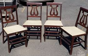 Stakmore Folding Chairs Vintage by Periods U0026 Styles Antiques