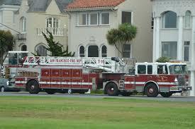 100 Truck San Francisco CA Fire Department Ladder