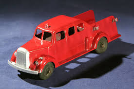 Tootsie Toy Fire Truck Vintage Tootsie Toy Fire Trucks Country Tazures Toys Pickup Trucks Lot 9 Vtg 1970s Diecast Plastic Jeep Uhaul Panel Otsietoy Red Hook And Ladder Truck Facing Front Right Otsietoy Aerial With Extension 1940s Tootsietoy 236 Lofty Antique Water Tower 1920s 4 Color Version Hubley Ladders From The 1930s For Sale Pending Prewar Tootsietoys Article By Clint Seeley