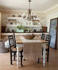 Country Dining Room Ideas by Rustic Chic Farmhouse Kitchencozy Rustic Style Dining Room Table