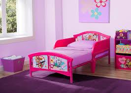 Delta Children Plastic Toddler Bed Nick Jr PAW Patrol Skye and