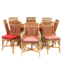 Vintage Wicker Patio Furniture Rocking Chair Vintage Wicker ...