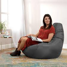Bean Bag Bazaar Recliner Gaming Bean Bag - 90cm X 73cm, Water Resistant  Indoor Outdoor BeanBag Chair, Living Room Gamer Bean Bags (Slate Grey) Tamara Bean Bag A Roundup Of 63 Our Favorite Bags Emily Henderson Chair Medium Fatsak Beanbag In Cord Velour Fabric The Comfy Sacks The Seventies Flashbak Big Joe 98inch Spicy Lime Madison Faux Suede 5foot Lounge By Christopher Knight Home Sofa Sack Plush Sofas With Super Soft Microsuede Cover Xl Memory Foam Stuffed Lounger Chairs For Kids Adults Couples Jumbo Cacipifalatop Page 24 Gigantic Bean Bag Baby Nz Star Giant Tutorial So Much To Make