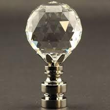 Swarovski Crystal Lamp Finials by 24 Best Glass And Crystal Lamp Finials Images On Pinterest Amber