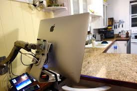 Imac Vesa Desk Mount by Pictures Of My Late 2012 Vesa Mounted With Ergotron Arm