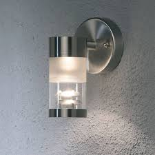 konstsmide bolzano 7594 stainless steel wall mounted light