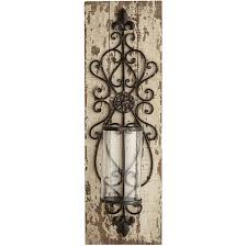lydia pillar candle holder wall sconce pier 1 imports