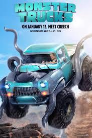 Monster Trucks Movie Information