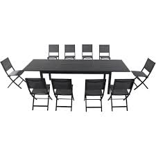 Cambridge Bryn 11-Piece Aluminum Outdoor Dining Set With 10-Folding-Sling  Chairs And An Expandable 40 In. X 118 In. In. Table Alinum Alloy Outdoor Portable Camping Pnic Bbq Folding Table Chair Stool Set Cast Cats002 Rectangular Temper Glass Buy Tableoutdoor Tablealinum Product On Alibacom 235 Square Metal With 2 Black Slat Stack Chairs Table Set From Chairs Carousell Best Choice Products Patio Bistro W Attached Ice Bucket Copper Finish Chelsea Oval Ding Of 7 Details About Largo 5 Piece Us 3544 35 Offoutdoor Foldable Fishing 4 Glenn Teak Wood Extendable And Bk418 420 Cafe And Restaurant Chairrestaurant