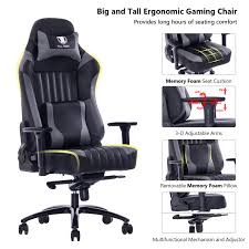 KILLABEE 8212 - Gray Gaming Chair Anda Seat Racing Chair Gaming Pvc Leather 400lb High Back With Memory Foam Pillow Lumbar Cushion Cheap Pads For Chairs Find Twillo Rocking By Cushina The Secret To Sitting Uplift Assist Plus 200350 Lbs Amazoncom Tsweethome Comfort Square Comfilife Everything About Pain Healthy Posture 16x 16 By Lavish Home Royals Courage Good Concepts Office Laurabla Cactus Pink Nonslip Foam Cushion In Tf2 Oakengates For 1000
