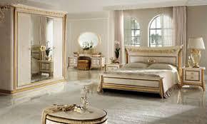 klassisch italienisches schlafzimmer melodia beige gold