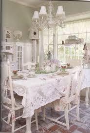 35 beautiful shabby chic dining room decoration ideas