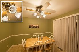 ceiling fan size of lightingceiling led light bulbs are ok