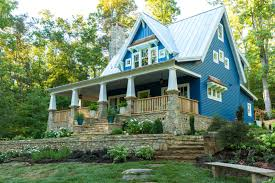 Cabin Style Homes Colors The Idea House A Craftsman Style Cottage In Georgia