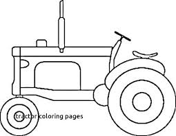 Coloring Pictures Of Tractors Page Tractor Farm Cartoon Google Place Mat Pencil Drawing A For Pages