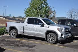 Spy Photographers Fully Expose 2019 GMC Sierra 1500 SLE Double Cab ... Ram Chevy Truck Dealer San Gabriel Valley Pasadena Los New 2019 Gmc Sierra 1500 Slt 4d Crew Cab In St Cloud 32609 Body Equipment Inc Providing Truck Equipment Limited Orange County Hardin Buick 2018 Lowering Kit Pickup Exterior Photos Canada Amazoncom 2017 Reviews Images And Specs Vehicles 2010 Used 4x4 Regular Long Bed At Choice One Choose Your Heavyduty For Sale Hammond Near Orleans Baton