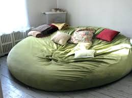 Giant Fluffy Bean Bag Big Chair Large Size Of Modern Bedroom Grey