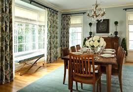Dining Room Windows Curtains And Drapes Ideas Living Formal Best White Window Treatments For Large