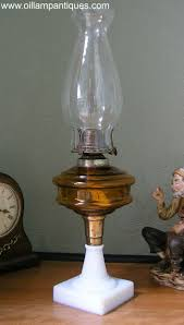 Aladdin Lamp Oil Canada by 76 Best Antique Glass Oil Lamps Images On Pinterest Glass Lamps