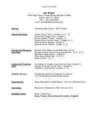 Sample Resume High School Targer Golden Dragon Brilliant Ideas Of Objective Examples
